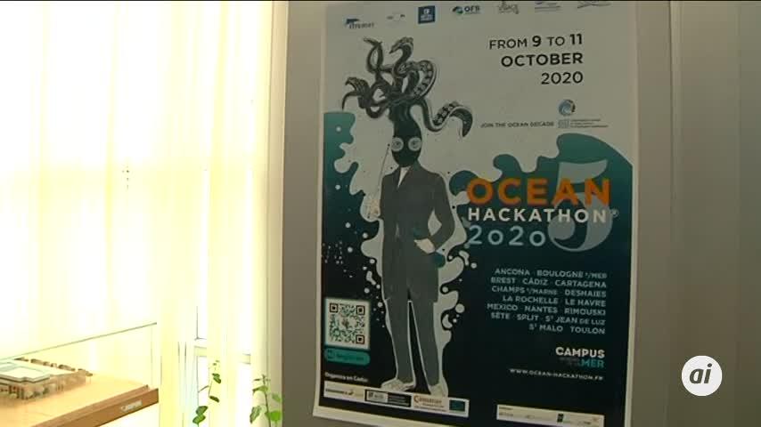 """Un proyecto sobre la """"basuraleza""""  gana el OceanHackathon celebrado en Cádiz"""