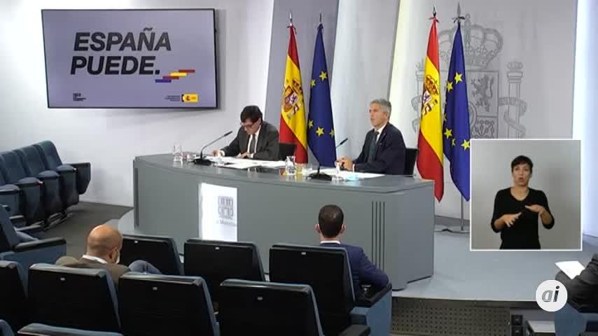 Illa justifica el estado de alarma en Madrid porque Ayuso se cruza de brazos