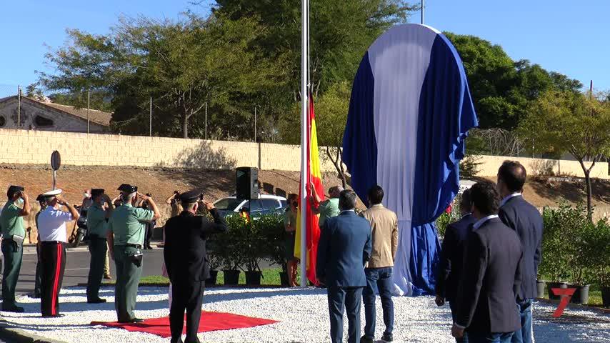 Jerez dedica una glorieta a la Guardia Civil por su servicio a la ciudad