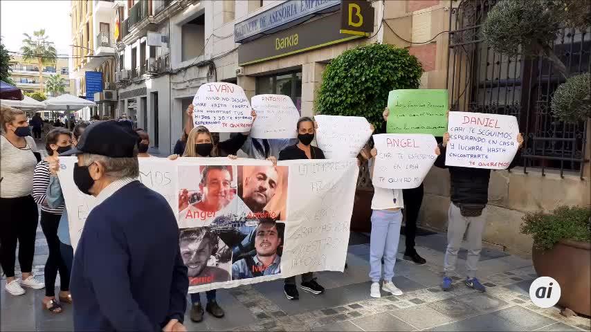 Familiares del 'Rúa Mar' exigen colaboración al gobierno local de Algeciras
