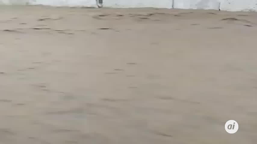 La borrasca 'Bárbara' deja huella a su paso por Huelva