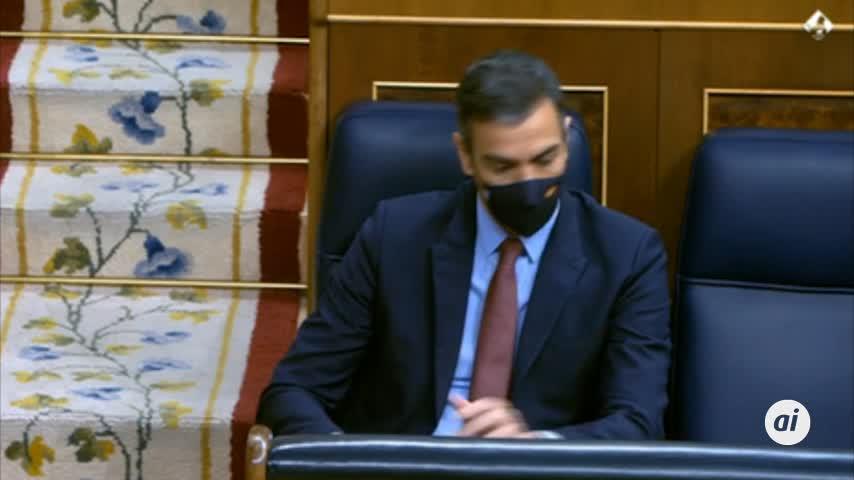 """Sánchez reprocha a Vox su única """"intención de sembrar odio y discordia"""""""