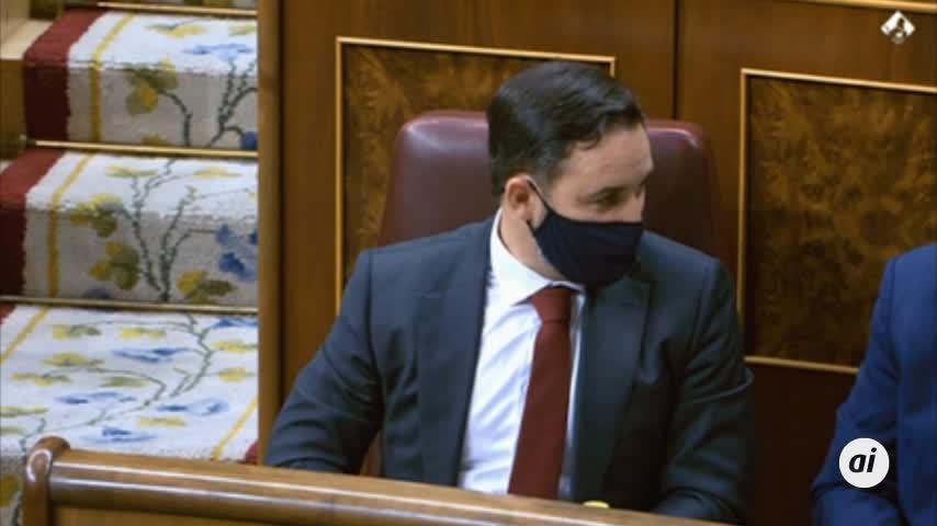 """Abascal termina un discurso de dos horas con un """"viva el rey y viva España"""""""