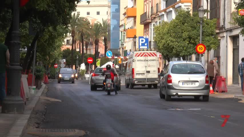 Mamen Sánchez no teme sanción por el asfaltado del eje de Corredera