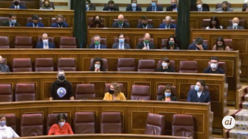 Fracasa de forma estrepitosa la moción de censura de Vox contra Pedro Sánchez