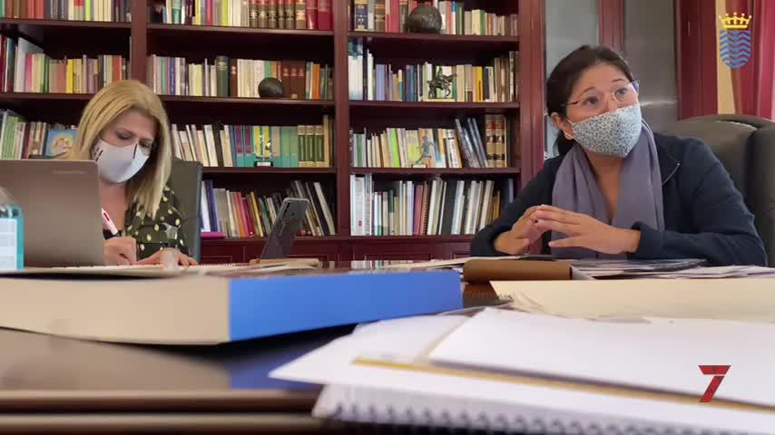 Sánchez trabaja para captar fondos del Gobierno para Vivienda y Movilidad