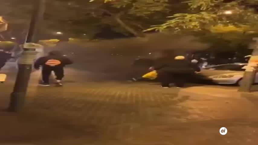 Incidentes en Pino Montano tras una protesta contra el toque de queda