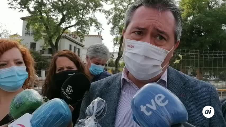 """Espadas condena los disturbios y """"desliga"""" la violencia de Pino Montano"""