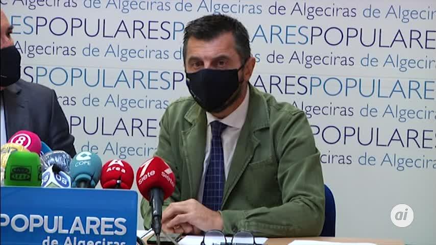 El PP, seguro del presupuesto autonómico, critica el nacional en Algeciras
