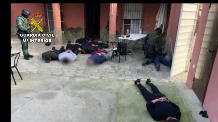 Cae un grupo de narcos dotado con armas de guerra y avanzados medios técnicos