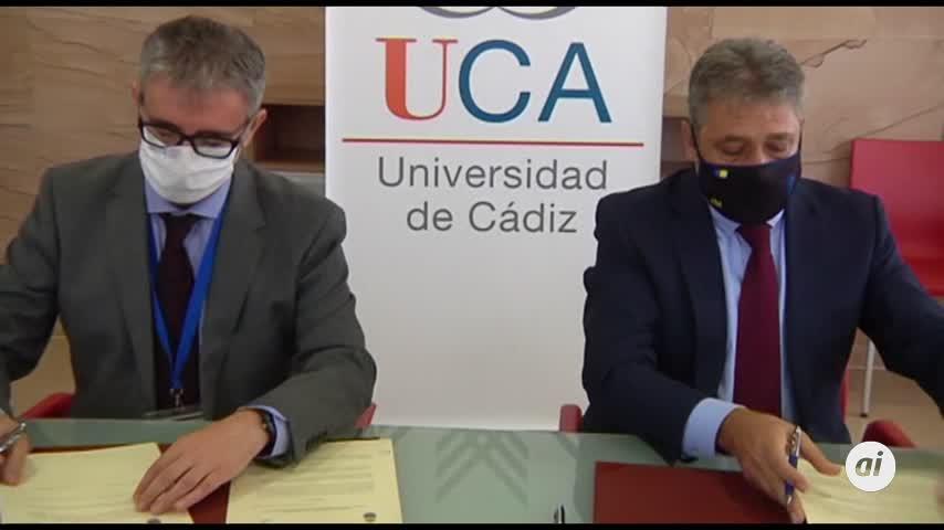 UCA y Fundación Cádiz CF. firman un protocolo general de colaboración
