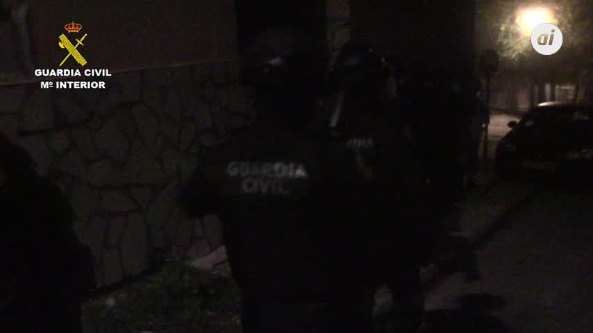 Operación Tharak : cultivo de marihuana y tiroteo con tres agentes heridos en la Sierra