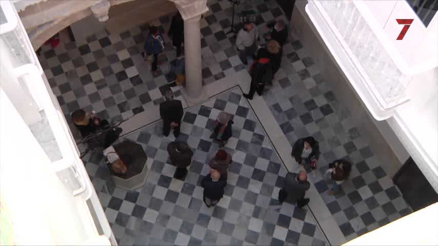 Inaugurada la exposición 'Cádiz: Música y luz en Manuel de Falla' en la Casa Pinillos