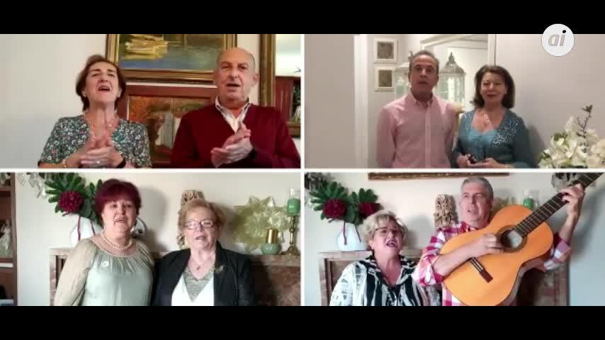 El primer villancico de la Navidad de Jerez suena de forma telemática