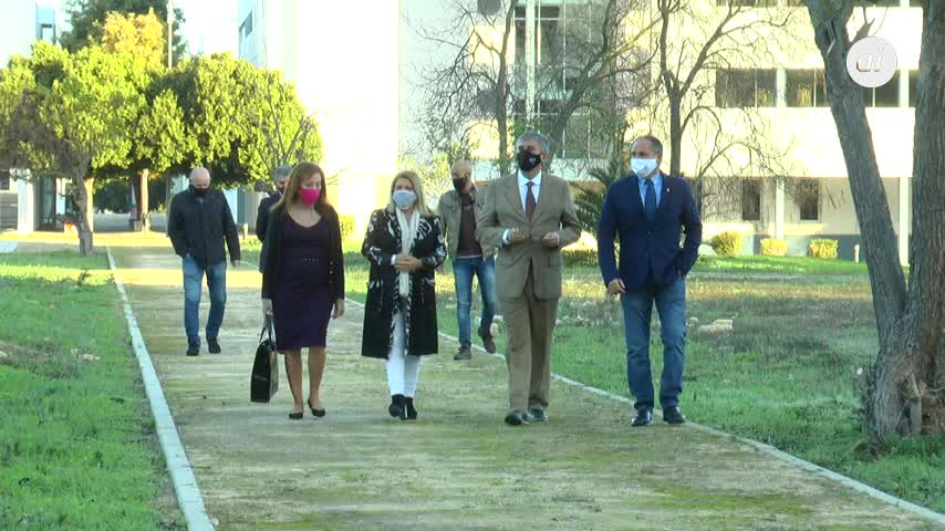 El Campus universitario de la Asunción se abre al Paseo de las Delicias