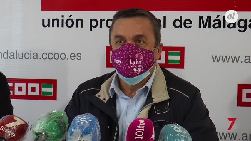 Adelante Málaga y CCOO se unen en contra de la siniestralidad laboral
