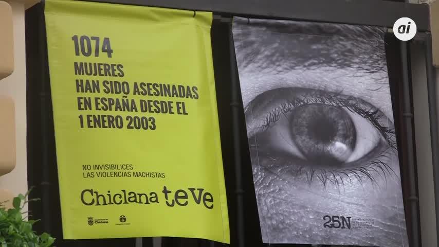 Chiclana se suma un año más a la lucha para eliminar la violencia hacia las mujeres