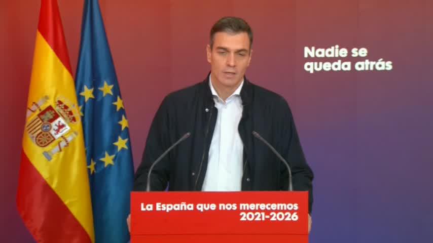 Pedro Sánchez pide anteponer la