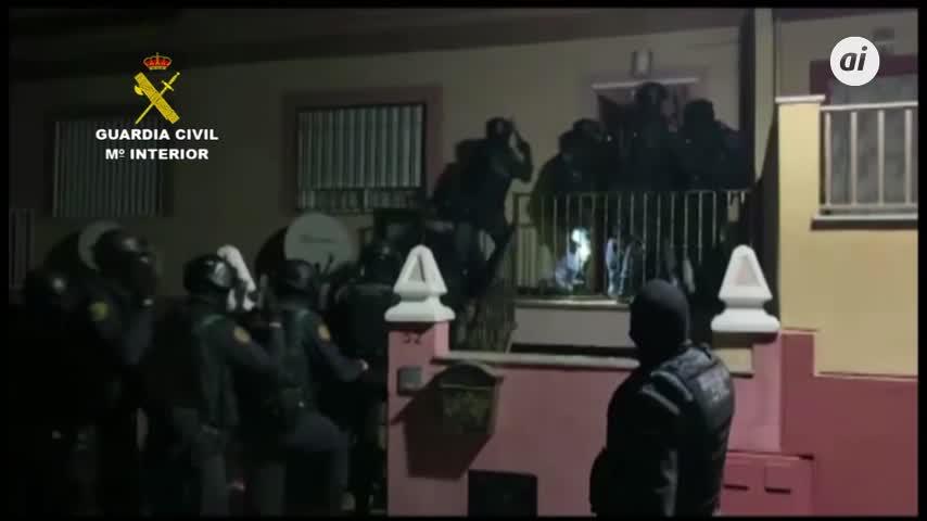 Desmantelan en Granada red que distribuía grandes cantidades de droga en Europa