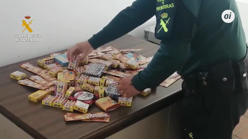 La Guardia Civil interviene más de 4.000 artículos de pirotecnia en Paterna del Campo