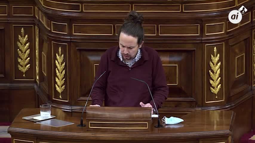 Iglesias dice que ERC y Bildu comprenden mejor la Constitución que la derecha