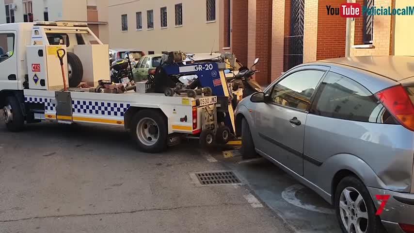 Casi 20.000 infracciones por mal uso de aparcamientos para movilidad reducida en Málaga