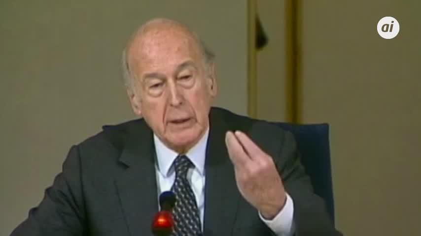 Fallece por Covid el expresidente francés Valéry Giscard d'Estaing