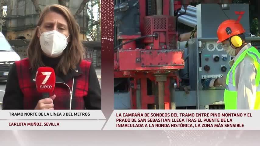 116 edificios de la Ronda son sensibles a las obras del Metro de Sevilla
