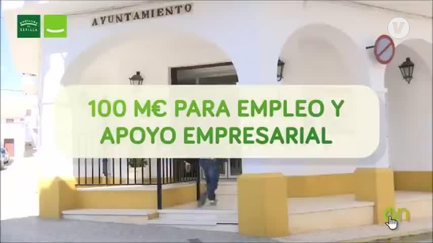 El alcalde, el gran protagonista del Plan Contigo de la Diputación de Sevilla