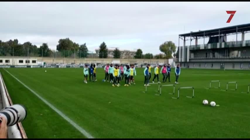 Vuelve la tranquilidad a los entrenamientos del Real Betis