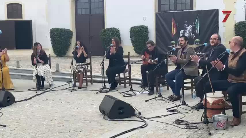 Una Navidad en Jerez con villancicos flamencos pero sin candelas encendidas