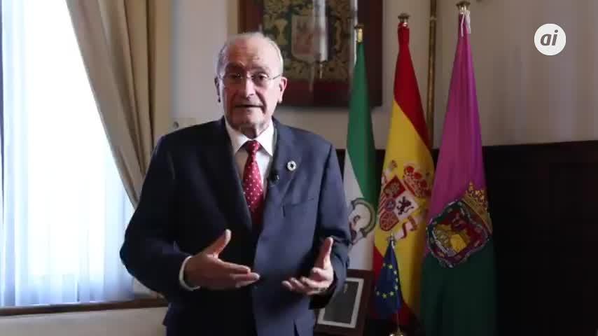 El doble objetivo del alcalde de Málaga: salvar vidas y reactivar la economía