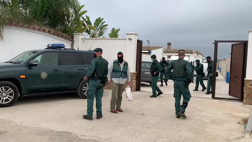 Operación internacional contra el narcotráfico en Sanlúcar con más de 200 guardias civiles