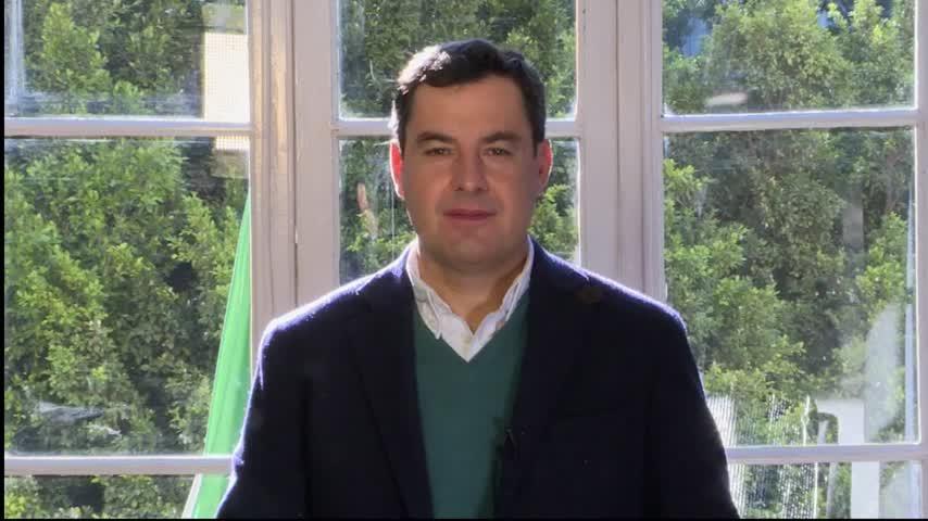 Moreno espera que el 50% de los andaluces estén vacunados a