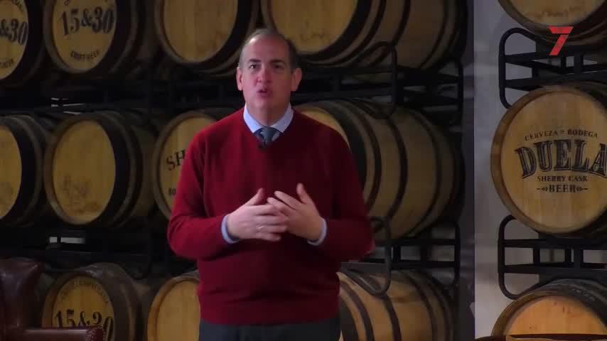 La Sherry Beer 15&30 presume de ser la única bodega de cerveza del mundo
