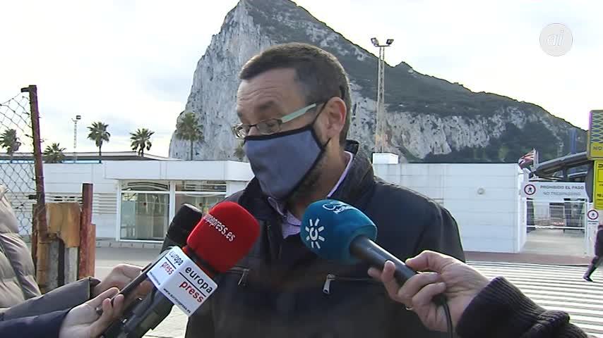 El alcalde de La Línea valora positivamente el acuerdo sobre Gibraltar
