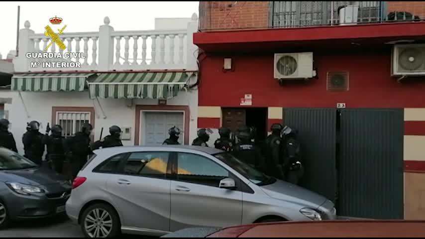 Cae una red dedicada al tráfico internacional de marihuana con 20 detenidos