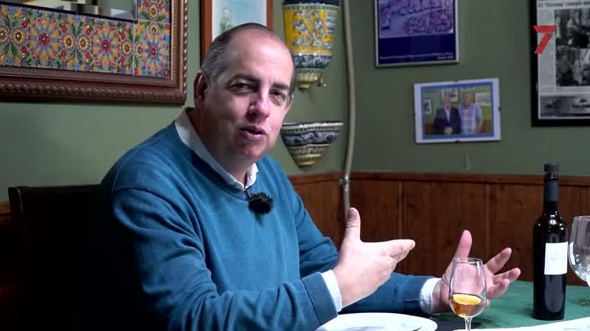 A mesa y mantel con Antonio Hernández-Rodicio