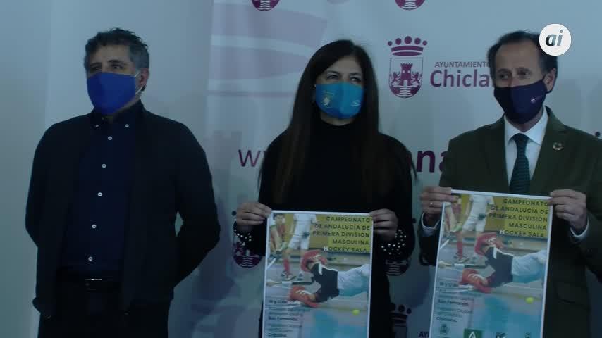 El 'Ciudad de Chiclana' acoge el fin de semana el Campeonato de Andalucía de hockey sala