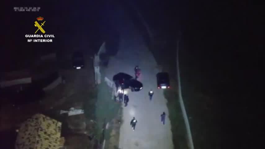 Vídeo: Así fue la detención de 'El Melillero'