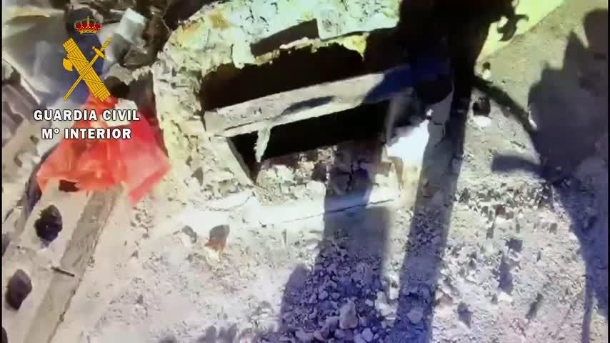 Investigan la muerte del hombre hallado en la casa cueva derrumbada en Cortes de Baza