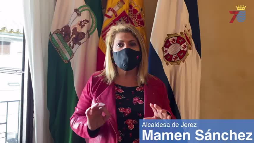 La alcaldesa invita a salir