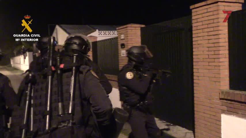 Guardia Civil detiene a 24 personas relacionadas con la operación Eurotruck