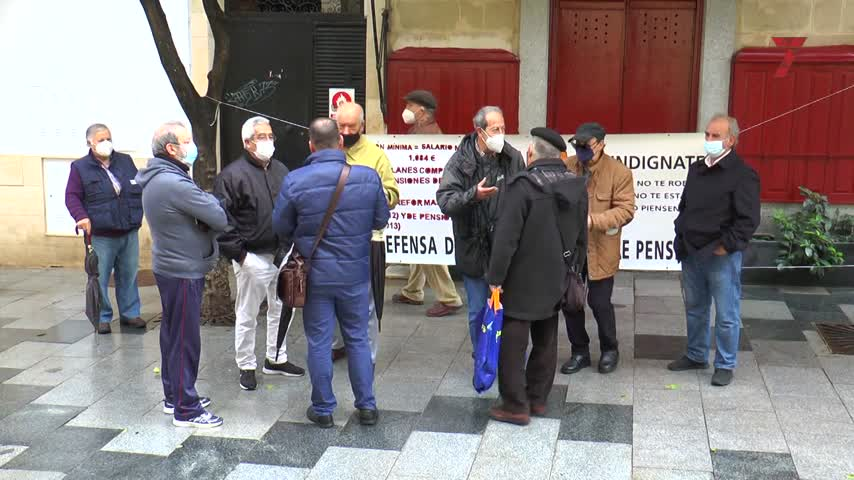La Marea de Jubilados, contra los cambios del Pacto de Toledo