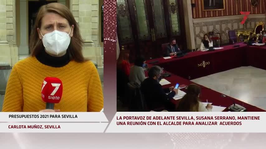 Adelante Sevilla agita el debate del Presupuesto y sus apoyos a 24 horas de su aprobación