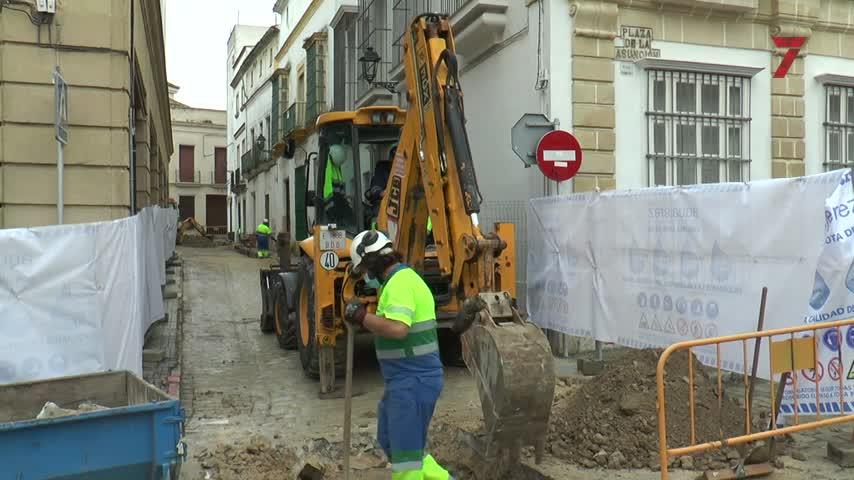 Aquajerez inicia las obras en las calles Chapinería y Carmen
