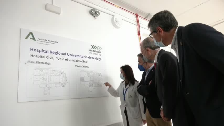 El Hospital Regional de Málaga contará con 60 camas más