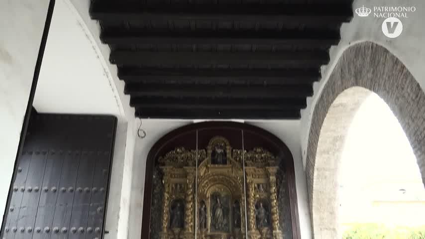 La detallada restauración de dos de los retablos de los Reales Alcázares de Sevilla