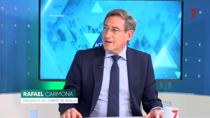 """El presidente del Puerto defiende que """"la Zona Franca de Sevilla hay que potenciarla"""""""