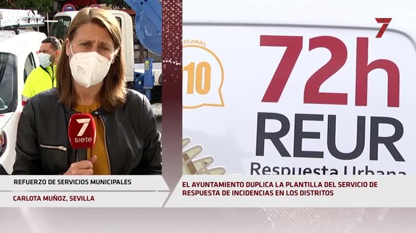 Más medios y personal para la primera línea de atención en los distritos de Sevilla